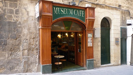 Museum cafe: Cafe front