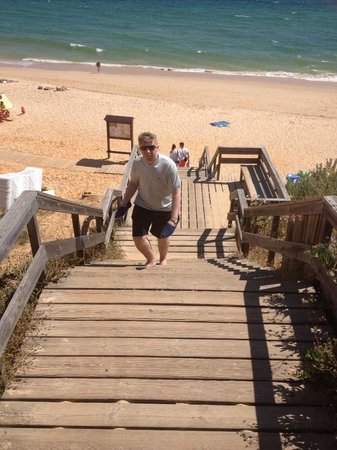 EPIC SANA Algarve Hotel: Staires  to beach