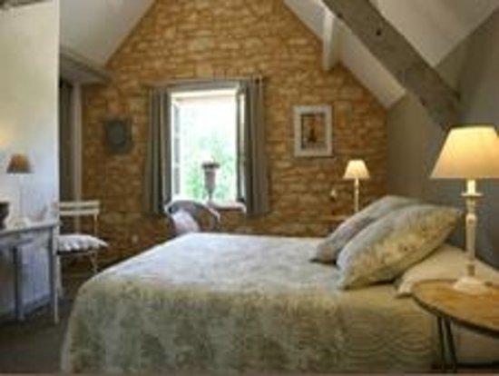 La Roche D'Esteil : chambre Charme