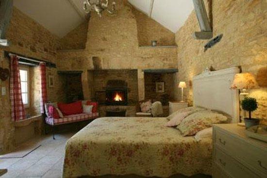 La Roche D'Esteil : chambre Tilleul