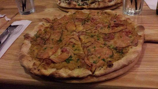 Pizzarium: une pizza alléchante