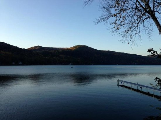 Lake Morey Resort: Lake view