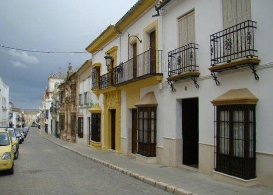 Hotel Palacio Marques de la Gomera: LA STRADA DELL'HOTEL