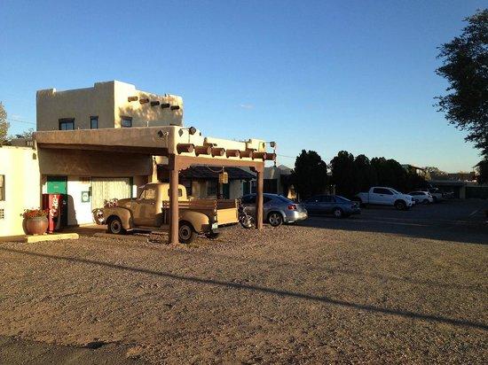 Silver Saddle Motel complex
