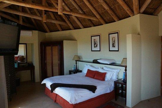 Kuzuko Lodge: Lodge interior