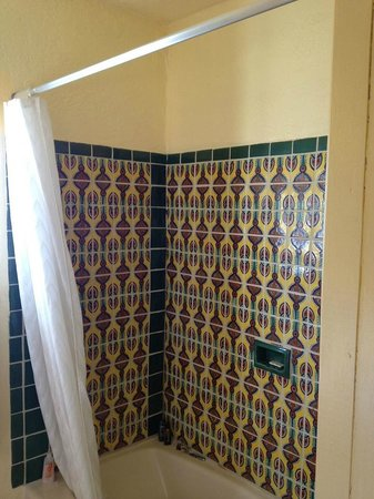 Silver Saddle Motel: Calamity Jane room #12 shower