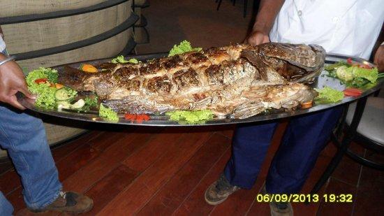 La Note Bleue Park Hotel : cena malgascia