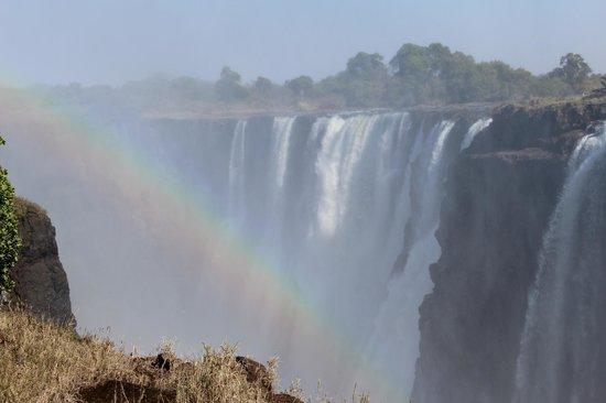 The Kingdom at Victoria Falls: View of Victoria Falls from Zimbabwe