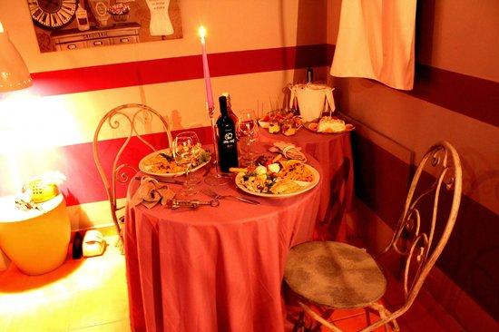 Ille-Roif Resort & SPA: cena a lume di candela