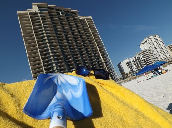 Phoenix Condominiums: View of condo from the beach