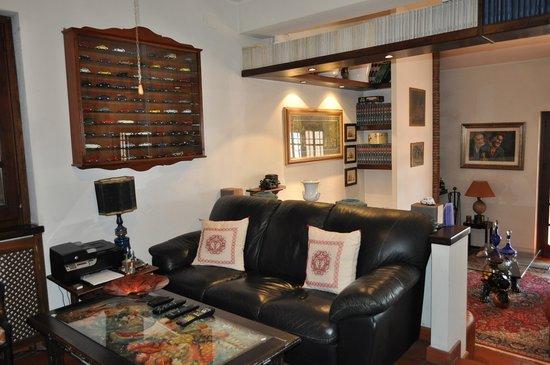 Bed and Breakfast Villa Giove : Sala TV