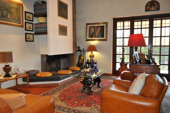 Bed and Breakfast Villa Giove : Salone