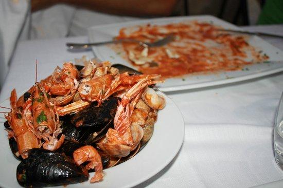 El Paso: Spaghetti ai frutti di mare... ormai sbranati!
