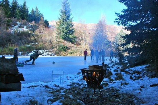 Waiorau Homestead: Curling
