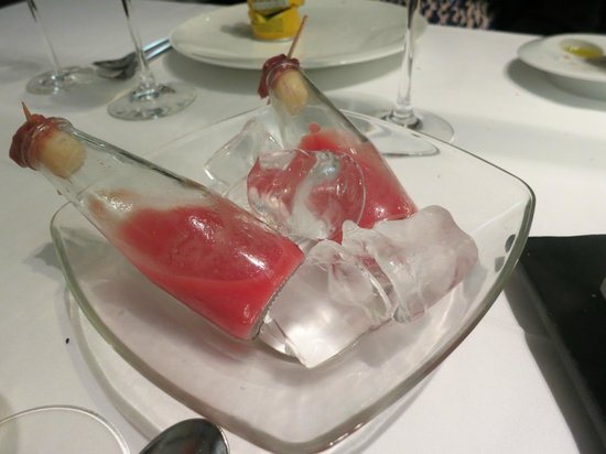 Arzak: Part of one of the early courses