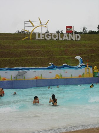 Legoland Malaysia: Legoland Water Park - wave pool