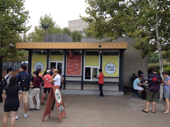 Conflict Kitchen: Waiting in line