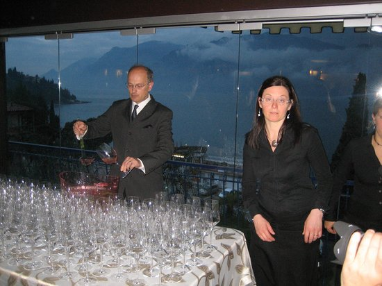 Hotel Capri: Chef Emil mit Ehefrau Enrica