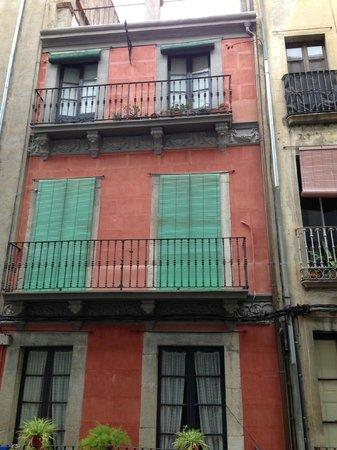 Hotel Ciutat de Girona : View from our window