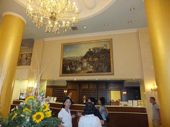 Grand Hotel Palace Thessaloniki: холл