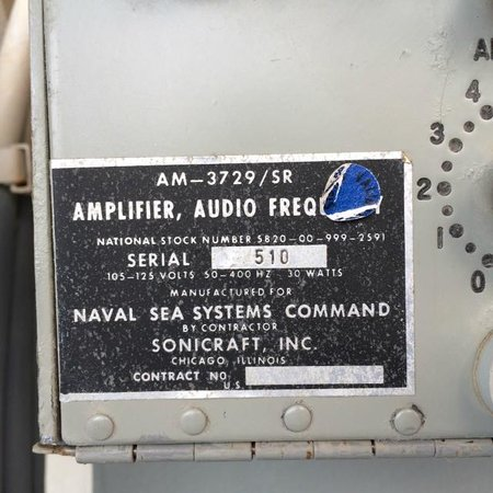 USS Wisconsin: Cool Old Audio Gear