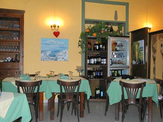 Restaurante Jardin de Los Naranjos: restaurant Los Naranjos in Puntagorda