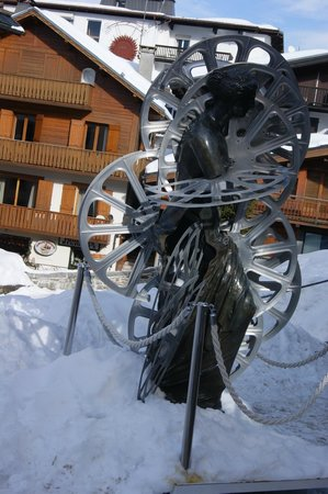 Terrass Park Hotel : Art moderne à Megève
