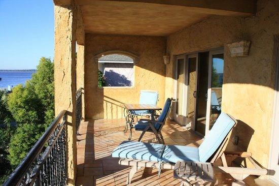 Ocean Lodge: On the Room Veranda