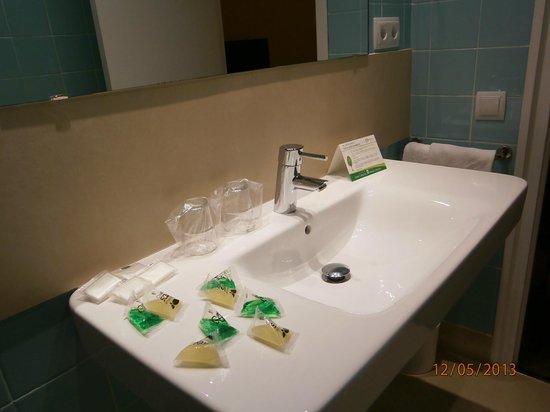 Hotel Ultonia Girona: bagno