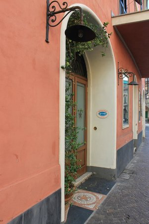 Albergo Stella: Entrata Hotel