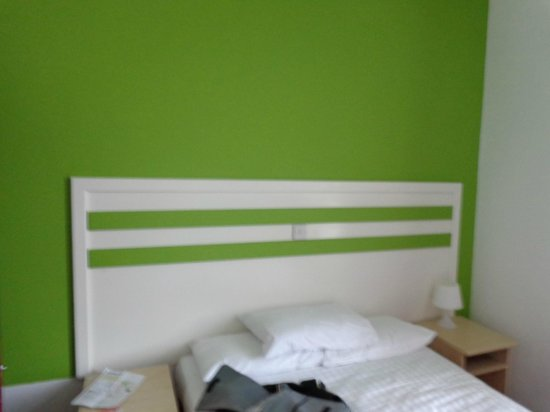 Euro Hotel Clapham: Cama
