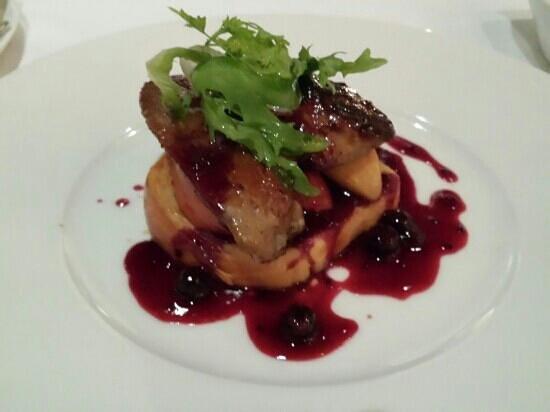 "Cassis Kitchen: Pan Seared Duck Foie Gras ""Cassis"""