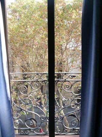 Hostal Benidorm: Balcon