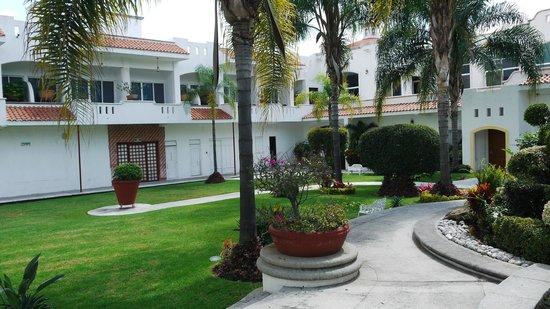 Hotel Canarios : vista del Jardin