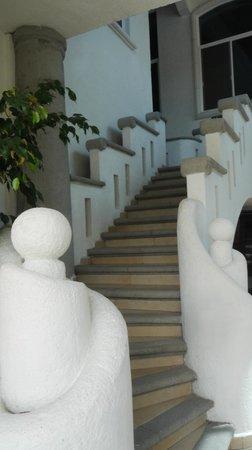 Hotel Canarios : Escaleras segundo piso