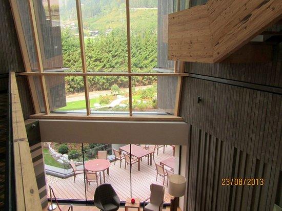 Falkensteiner Hotel Schladming : Vista dalla scala