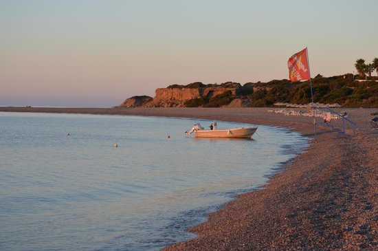 Mitsis Rodos Maris Resort & Spa: lovely beach