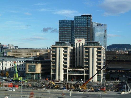 Baustelle südlich des Thon Hotel Opera