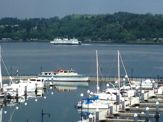 View from the Hampton Inn & Suites Bremerton