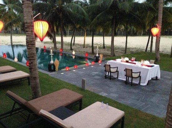 The Nam Hai Hoi An: outside
