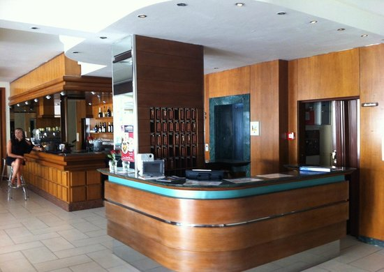 Hotel Evelyn: Reception