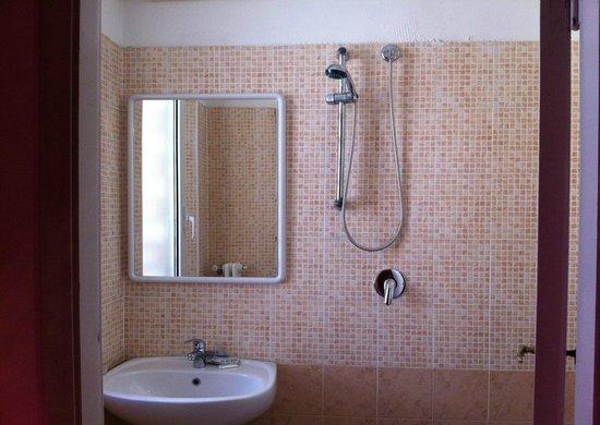 Hotel Evelyn: Bagno