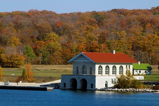 Door County, WI: Rock Island State Park Boathouse