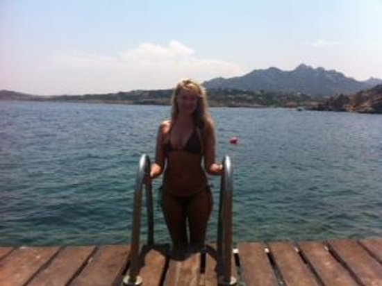 Colonna Resort: After taking a dip in the Resort's sea front beach