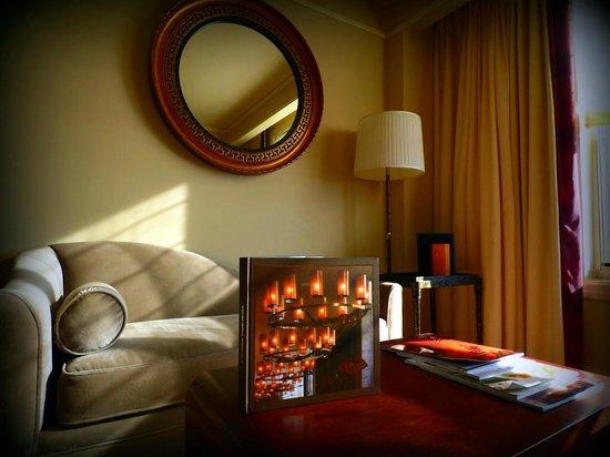 Mandarin Oriental, Washington DC: Living area