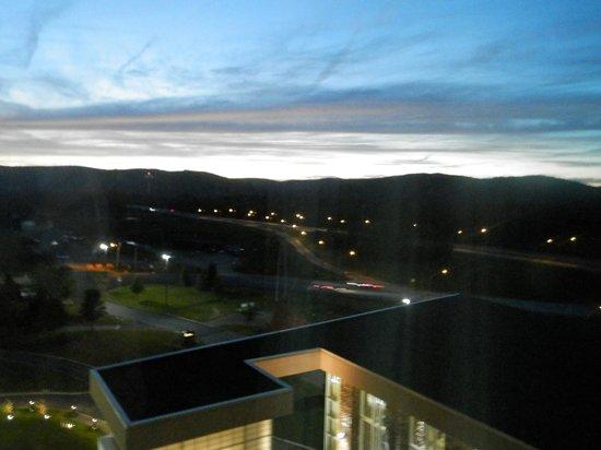 Seneca Allegany Resort & Casino: Sunset over the Allegheny Mtns.