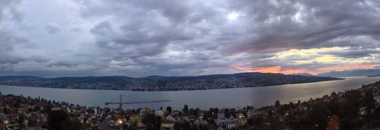 Hotel Belvoir Swiss Quality: View from room #420. Beautiful morning.