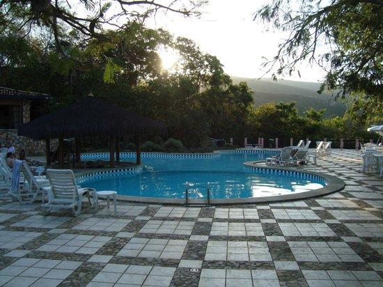 Portal Lencois Hotel: Fim de tarde na piscina