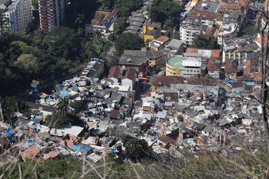 Favela Santa Marta Tour : Favella vue générale