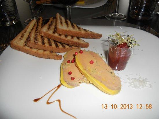 """Le Cheval Rouge: Foie gras de canard """" maison"""""""